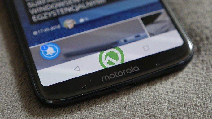 Motorola Moto Z4 Android Q