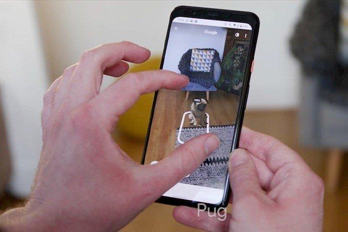 Pesquisa Google Animais 3D