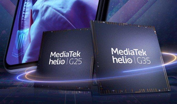 Processadores MediaTek Helio G25, Helio G35