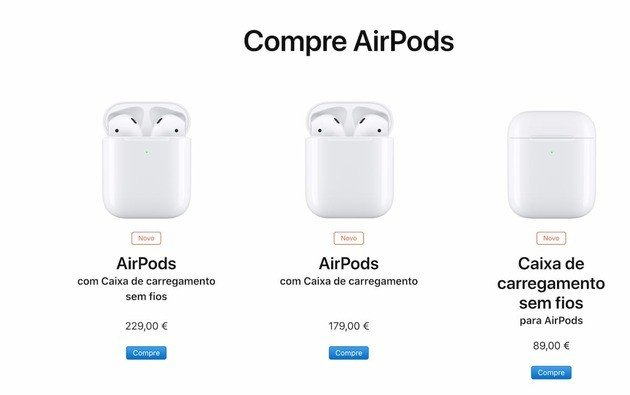 Apple AirPods 2 e