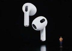 Apple AirPods 3 finalmente oficiais. Novo design acompanhado pelo Spacial Audio