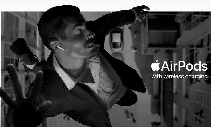 Apple publicidade AirPods