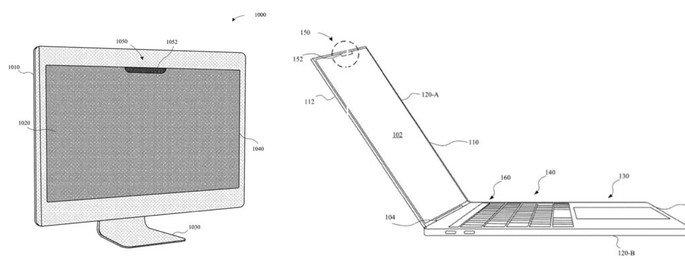 Patentes do Face ID no Macbook e iMac