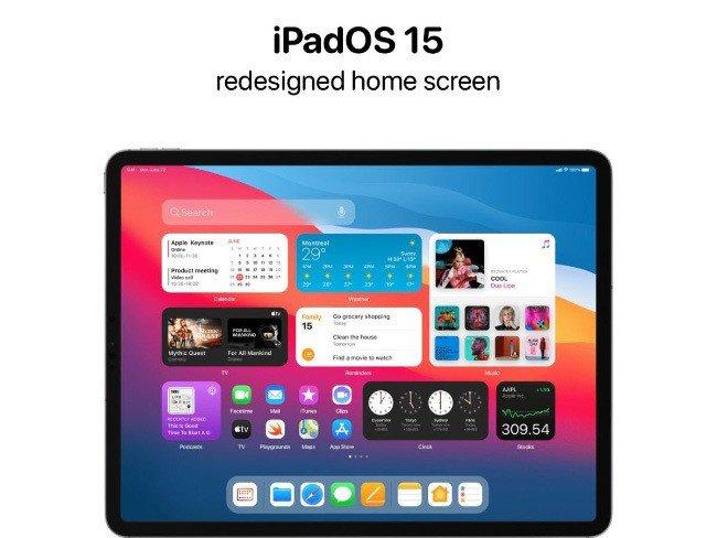 Apple iPad OS 15