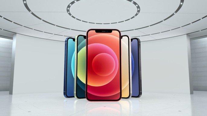 Família iPhone 12 da Apple