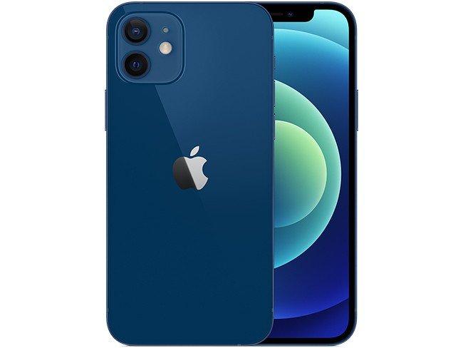 Apple iPhone 12 em azul