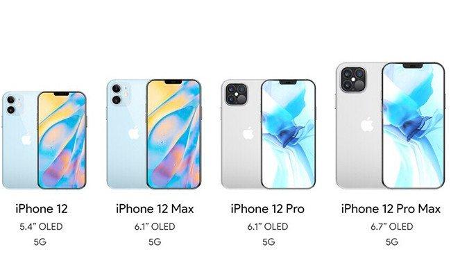 Linha Apple iPhone 12 2020