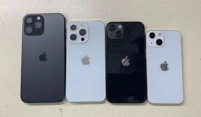 Moldes dos novos iPhone 13