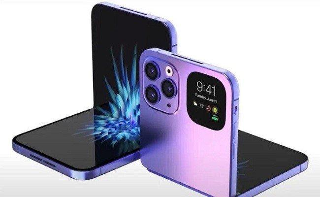 Apple iPhone smartphone dobrável