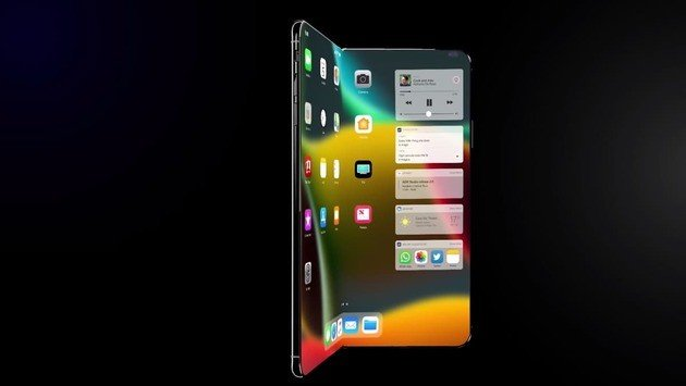 Apple iPhone X Fold smartphone iPhone dobrável