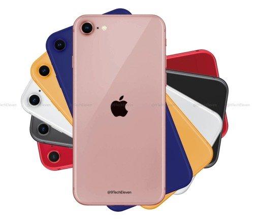 Apple lançará o iPhone 9 (iPhone SE 2) nestas 6 cores! Qual é a tua preferida?