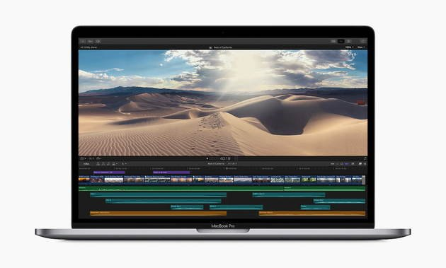 macbook pro final cut pro x