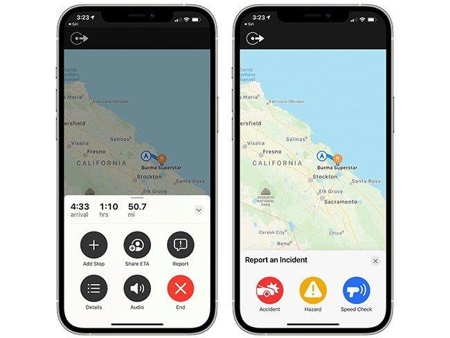 Apple Maps Google Waze
