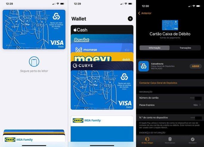 Apple Pay Caixa Geral de Depósitos