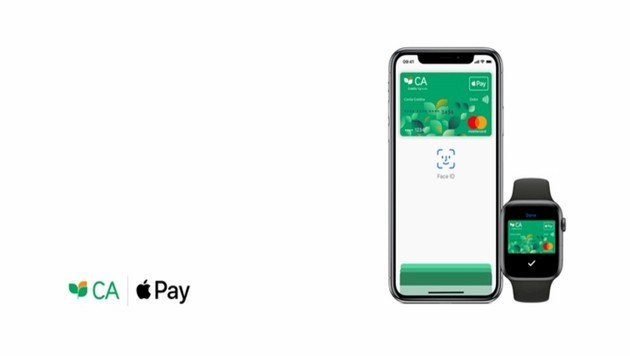 apple pay crédito agrícola