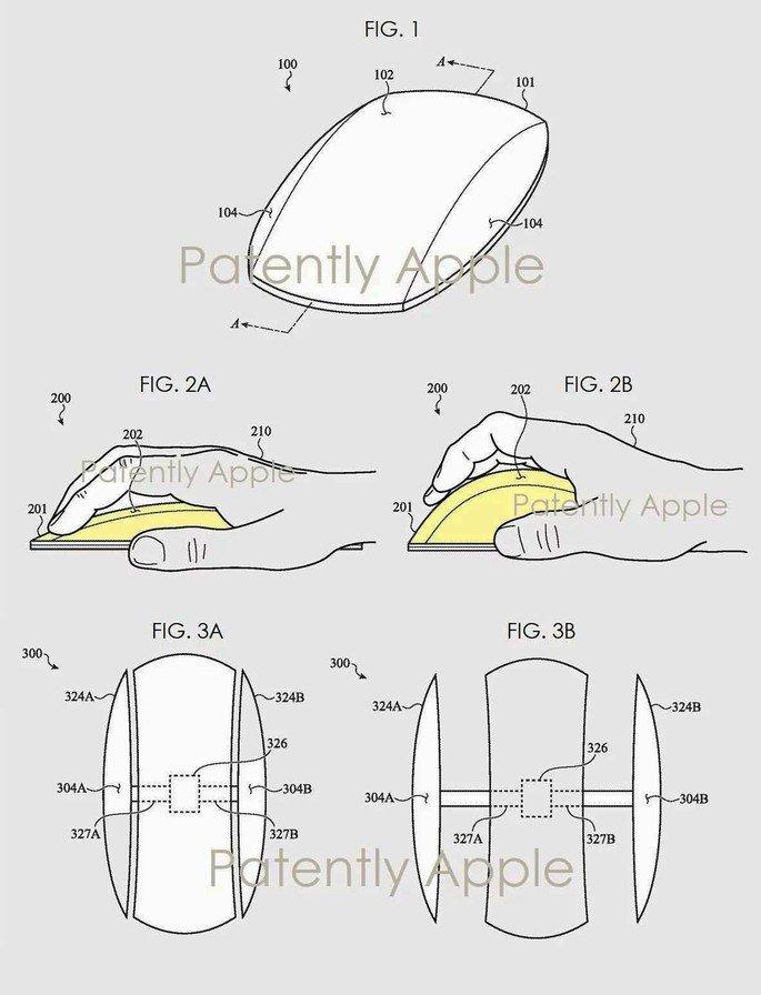 Apple prepara um rato que se vai adaptar à tua mão!