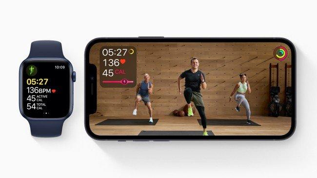 Apple Fitness+ iPhone Apple Watch