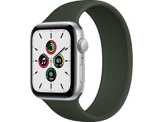 Apple Watch SE em verde
