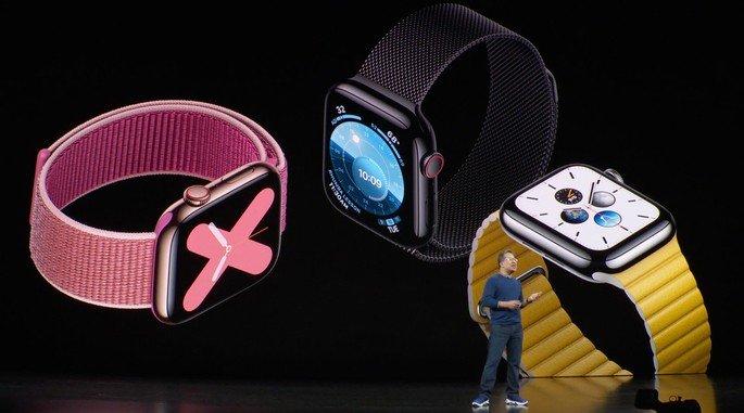 Novo Apple Watch Series 5