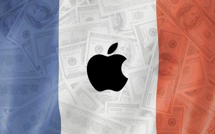 França multa Apple