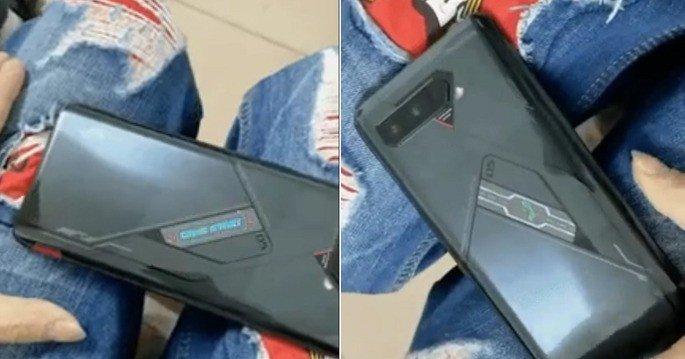 Imagens reais do Asus ROG Phone 5