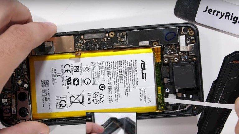 Asus ROG Phone II: desmontagem revela sistema de ventilação (vídeo)