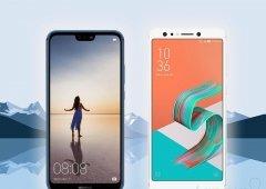 Huawei P20 Lite vs ASUS ZenFone 5 Lite - Android por 399€