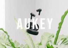 3 bons auriculares Bluetooth AUKEY em promoção na Amazon