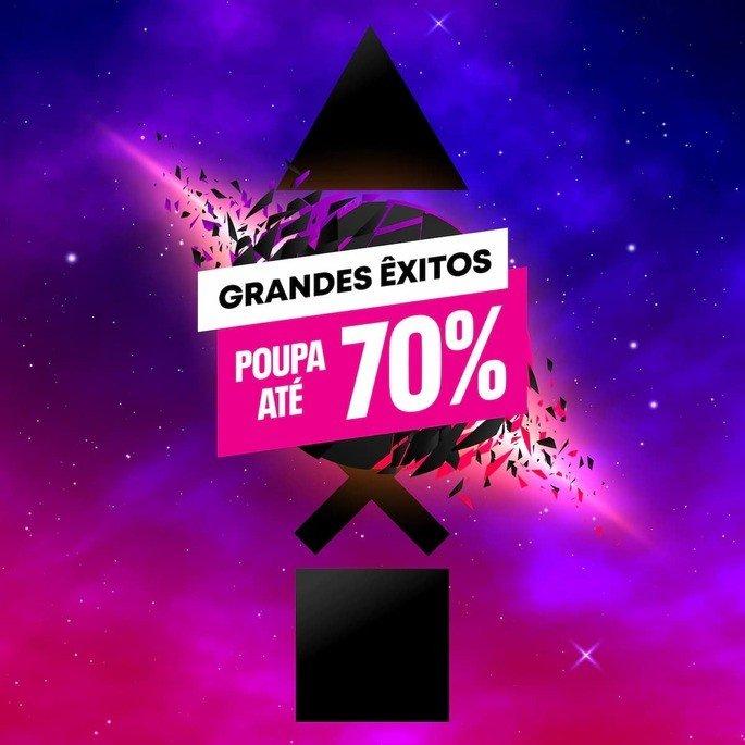Podes poupar até 70% na campanha Grandes Êxitos da PS Store