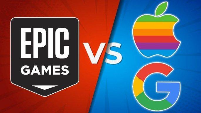 Batalha legal Epic vs Apple vs Google