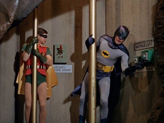 batman slide
