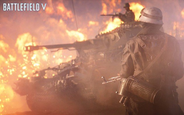 Battlefield V FireStorm Battle Royale