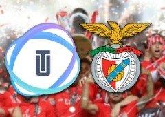 Benfica faz parceria com a Utrust e já aceita criptomoedas na sua loja online