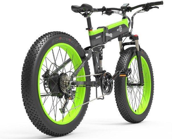 Bicicleta elétrica de montanha Bezior X1000