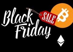 Black Friday chegou às criptomoedas! Bitcoin e Ethereum continuam a cair