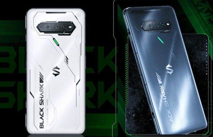 Design do Xiaomi Black Shark 4S
