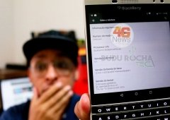O 1º BlackBerry com Android, o Passport com Lollipop em vídeo!