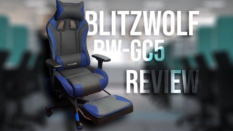 BlitzWolf BW-GC5 Review: cadeira gaming barata a ter em conta