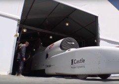 Bloodhound LSC: o carro-jato que pretende quebrar a barreira do som em terra (vídeo)