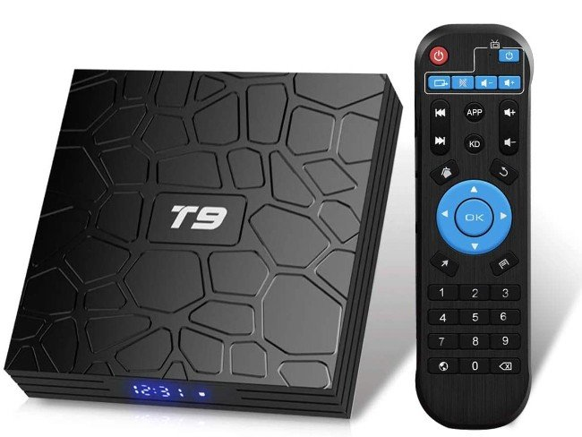 Box Android TV T9