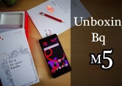 Unboxing do novo BQ Aquaris M5