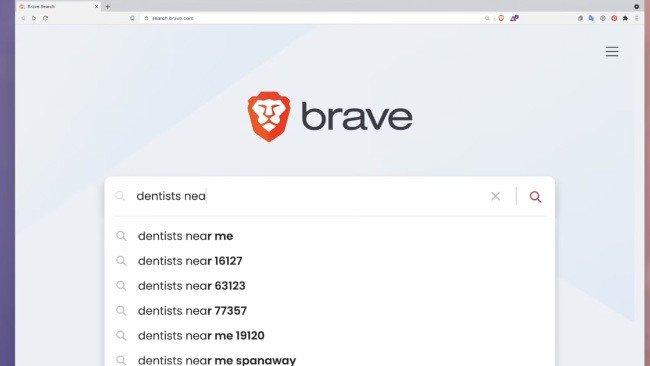 Brave Motor de busca