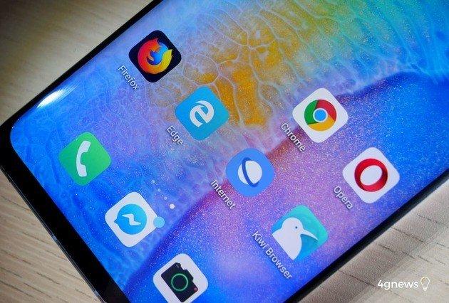 Browsers alternativas ao Google Chrome Android