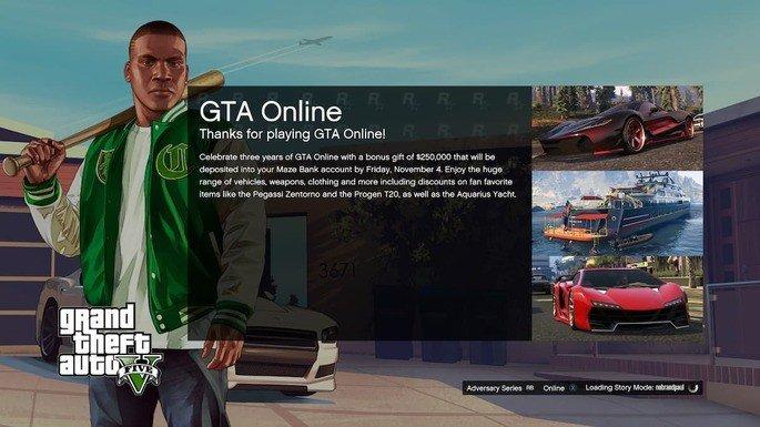 Os tempos de carregamento (loading) são um problema no GTA Online