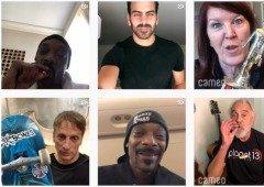 Cameo é a app que vende mensagens personalizadas de celebridades