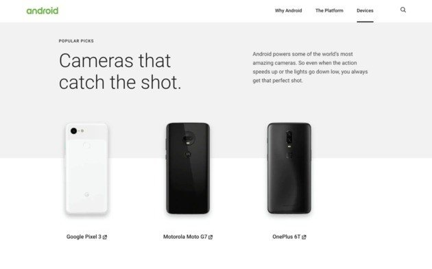 cameras shot