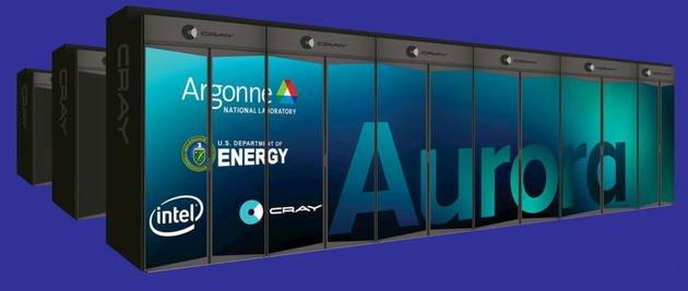Intel vai construir o Aurora: primeiro supercomputador de exa-escala