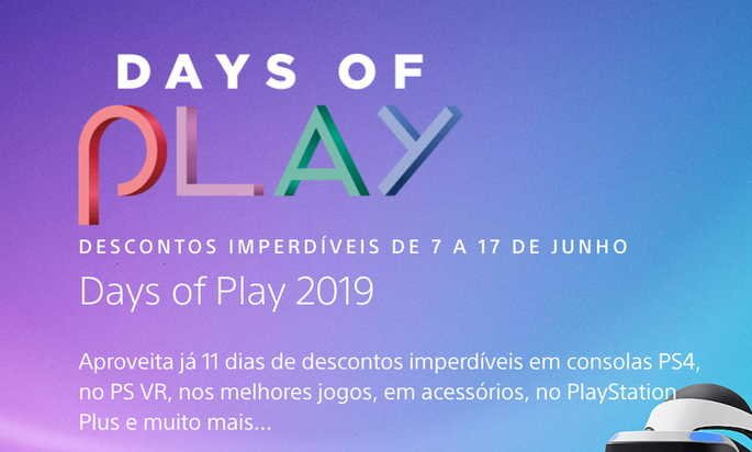 days of play playstation