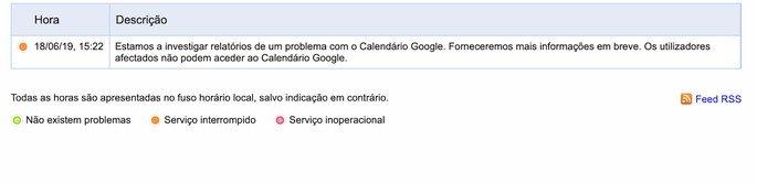 google calendário