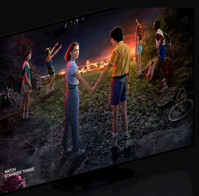 smart tv netflix stranger things